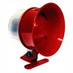 Sirene para Alarme de Incêndio com Sinalizador Visual Bitonal 115Db - DNI - DNI 4325 - Unitário