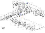 Jogo do Pinhão - Volvo CE - 15194304 - Unitário