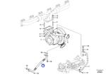 Tubo de Retorno do Óleo - Volvo CE - 17214077 - Unitário