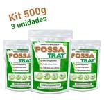 Limpa Fossa e Caixa de Gordura Fossa Trat - 1,5 kg (3x500g) - Biotecnal - 6352 - Unitário