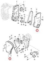 Protetor da Correia - Original Chevrolet - 93273316 - Unitário