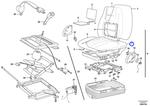 Forro para Estofamento - Volvo CE - 17208804 - Unitário