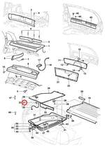 Retentor da fechadura do porta-luvas - Original Chevrolet - 93257169 - Unitário