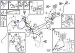 Conexão 90º do Sistema de Ar Comprimido - Volvo CE - 992248 - Unitário