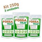 Limpa Fossa e Caixa de Gordura Fossa Trat - 750g (3x250g) - Biotecnal - 6356 - Unitário