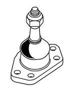 Pivô de Suspensão - MecPar - PV2844 - Unitário
