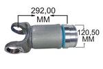 Ponteira e Luva do Cardan - LNG - 41-453 - Unitário