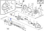 Cubo do Eixo Planetário - Volvo CE - 15122323 - Unitário