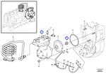 Unidade do Compressor de Ar - Volvo CE - 21353457 - Unitário