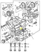 Rolamento da Engrenagem Balanceadora - PERKINS - 2551A014 - Unitário