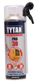 Espuma Expansiva Poliuretano PRO-30 500ml 480g - Tytan - T30500 - Unitário