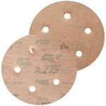 Disco de lixa seco A275 grão 600 127mm c/ 5 furos - Norton - 66261086369 - Unitário