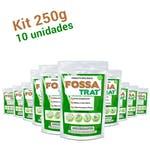Limpa Fossa e Caixa de Gordura Fossa Trat - 2,5 kg (10x250g) - Biotecnal - 6358 - Unitário