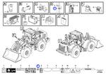 Decalque - Volvo CE - 11444288 - Unitário