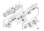 Anel de Fixação - Volvo CE - 7117-34290 - Unitário