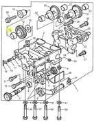 Rolamento da Engrenagem Balanceadora - PERKINS - 2551A201 - Unitário