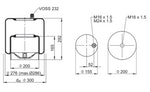 Mola Cilíndrica - Contitech - 62424 - Unitário