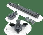 Sistema de Porta de Correr RO 44 com Amortecedor Agility Plus Standard 15 a 40Kg