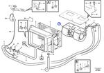 Motor do Ventilador do Ar Condicionado - Volvo CE - 15141190 - Unitário