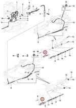 Conector traseiro do cabo do freio de estacionamento - Original Chevrolet - 93268550 - Unitário