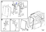 Protetor do Para-brisa - Volvo CE - 14506806 - Unitário