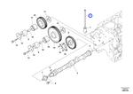 Barra de Pressão - Volvo CE - 16670222 - Unitário