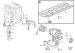 Parafuso do Acessório do Cárter - Volvo CE - 20570025 - Unitário