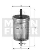 Filtro de Combustível - Mann-Filter - WK 513 - Unitário