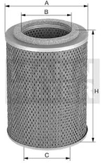 Filtro de Óleo do Sistema Hidráulico - Mann-Filter - H1273 - Unitário