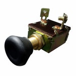 Chave Luz Comutadora 2 Puxadas 120W p/ Linha Pesada Ford/Case/Caterpillar/Hyster-12/24V 2 Terminais - DNI - DNI 2085 - Unitário