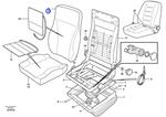 Forro para Estofamento - Volvo CE - 11998618 - Unitário