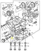 Rolamento do Eixo do Balanceador - PERKINS - 2551A009 - Unitário
