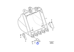 Dente - Volvo CE - 1171-00041 - Unitário