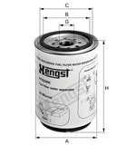 Filtro de Combustível - Hengst - H705WK - Unitário