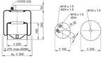 Mola Cilíndrica - Contitech - 62425 - Unitário