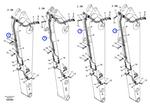 Tubo do Sistema Hidráulico - Volvo CE - 14511736 - Unitário