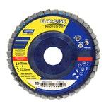 Disco Flap Evolution R822 grão 80 115x22,23mm - Norton - 66623313733 - Unitário