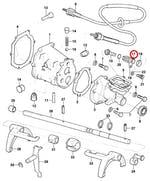Conexão da engrenagem do velocímetro c/ vedador e retentor - Original Chevrolet - 94648484 - Unitário