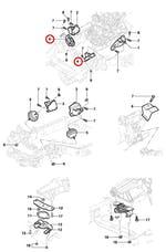 Coxim Dianteiro 44E00025 - Original Chevrolet - 93246728 - Unitário