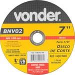 Disco de Corte BNV 02 180 x 1,6 x 22,23mm - Vonder - 12.08.012.700 - Unitário