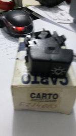 BOTAO INTERRUPTOR CHAVE DE LUZ FAROL - CARTO - F214000 - Unitário