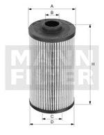 Filtro de Combustível - Mann-Filter - PU 707 x - Unitário