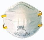 Máscara Descartável sem Válvula 8720 para Pós e Névoas - 3M - HB004116727 - Unitário