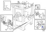 Luva de Retenção do Porta Fusíveis - Volvo CE - 873854 - Unitário