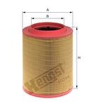 Filtro de Ar - Hengst - E1024L - Unitário