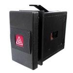 Interruptor do Pisca Alerta Audi/Vw 3279532351 - 8 Terminais 12V Chave Comutadora - DNI - DNI 2121 - Unitário