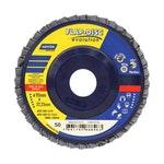 Disco Flap Evolution R822 grão 50 115x22,23mm - Norton - 66623313730 - Unitário