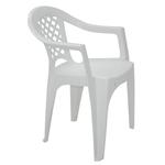 Cadeira com Braços em Polipropileno Branco Tramontina Iguape Basic - Tramontina - 92221010 - Unitário