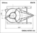 Defletor de Ar - Valeo - 820675R - Unitário