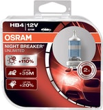 Lâmpada Night Breaker Unlimited HB4 - Osram - 9006NBU - Par